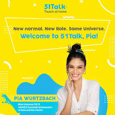 51Talk welcomes Miss Universe 2015 Pia Wurtzbach as new ambassador, screens potential online teachers joining the platform