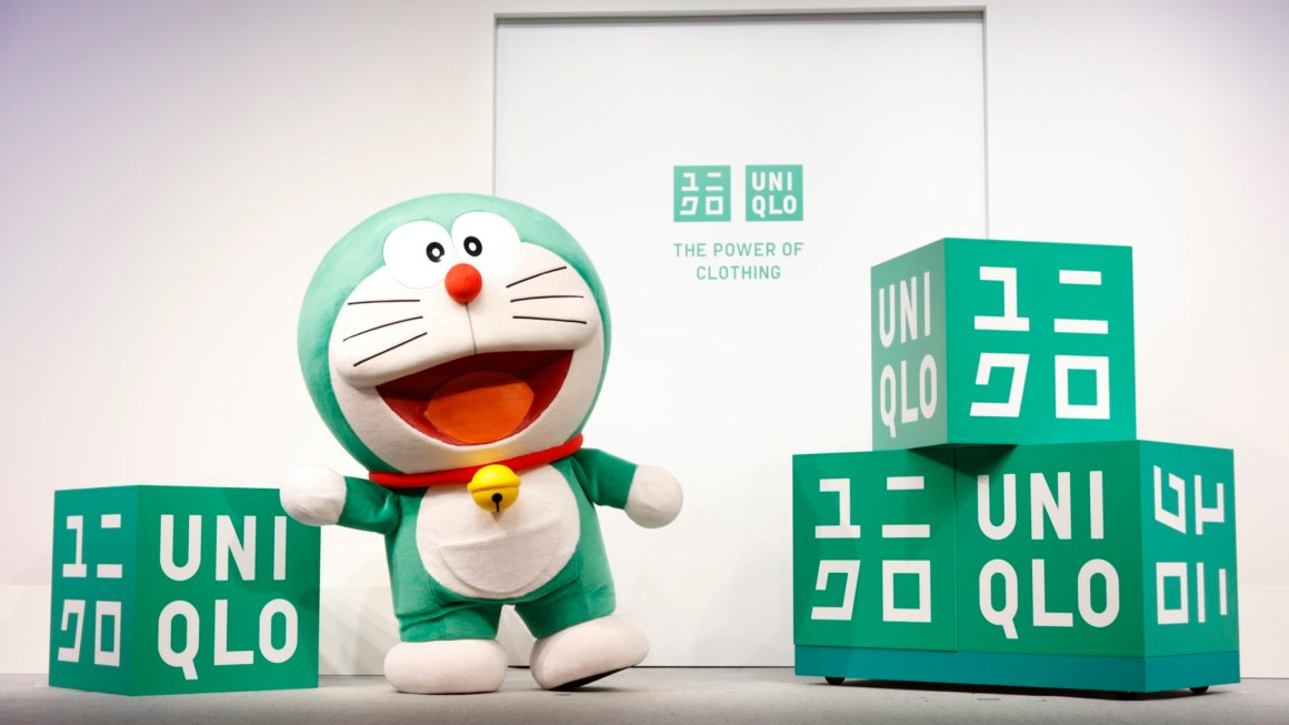 Say hello to Uniqlo's Global Sustainability Ambassador, our favorite Robocat Doraemon!