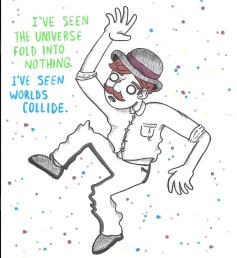 Alex Gross--Space Stuart