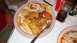 El Hotelito dinner, cayo de hacha