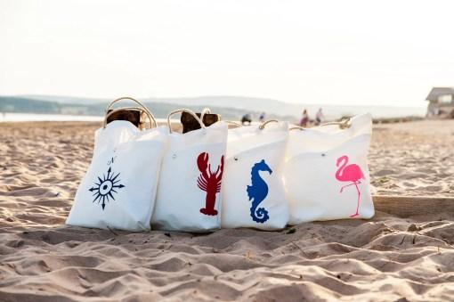 Marine shopper bags