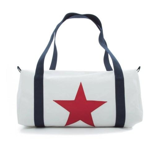 Red star flight bag