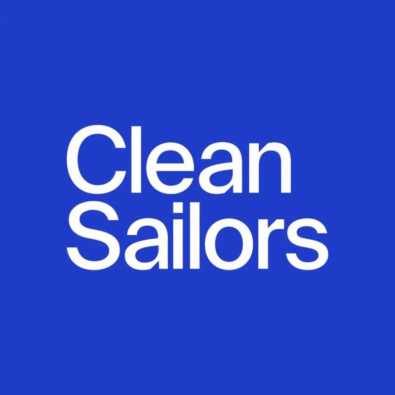 Clean Sailors Blue Logo
