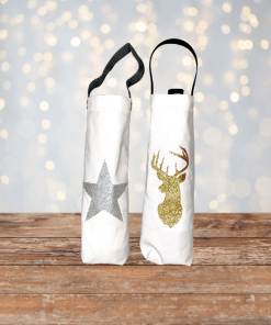 christmas-gold-stag-silver-star-bottlebags