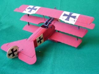 "Fokker Dr I di Manfred von Richthofen, il ""Barone rosso"" - Fokker Dr I of Manfred von Richthofen, the ""Red Baron"""