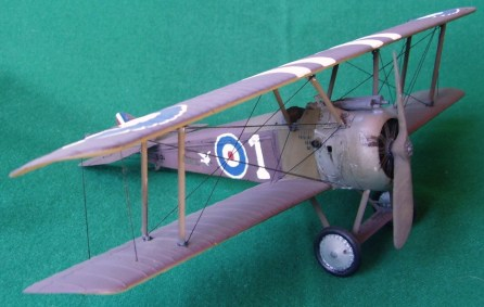 Caccia inglese Sopwith Camel, 1917 - British fighter Sopwith Camel, 1917