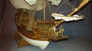 Dettaglio della prua - View of the bow