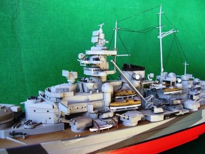 Corazzata Tirpitz, dettaglio della plancia - Battleship Tirpitz, detail of the bridge