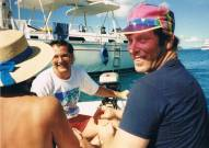 Fun in the sun-BVIs 1989