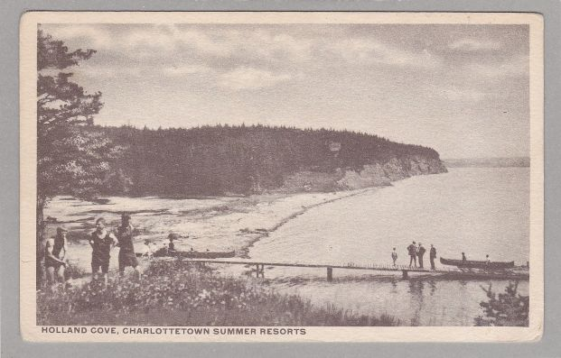 Holland Cove looking East ca.1915