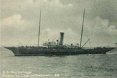 Postcard of SS Hochelaga