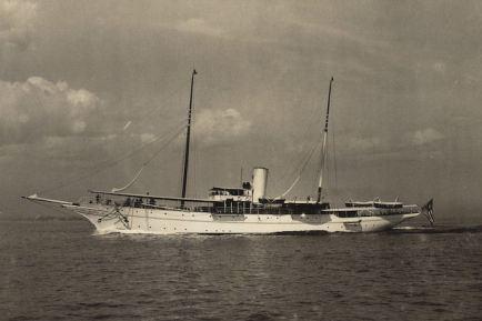 SS Waturus (later Hochelaga) as Randal Morgan's private yacht ca. 1906