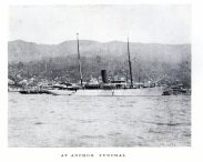 SS Waturis at Funchal in the Madeira