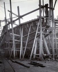 Bow Framing, starbord side Photo:Tyne & Wear Archives & Museums #467291