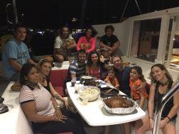 Thanksgiving staff diner