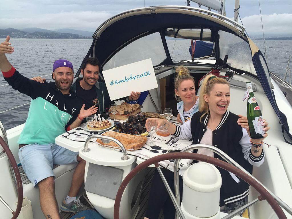 Ruta en barco, 7 días por las Rías Baixas
