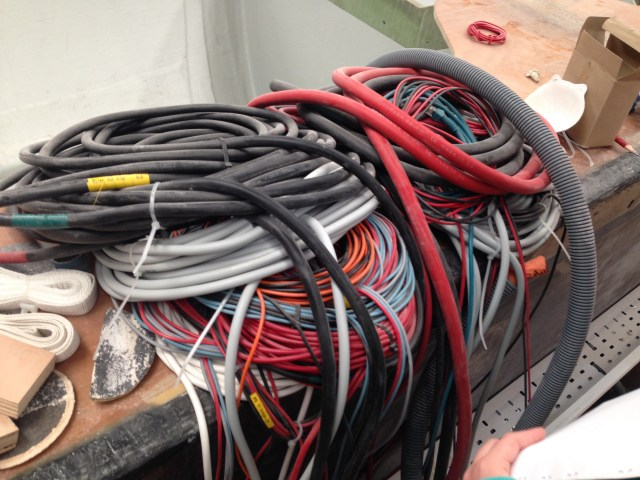 Many wires!