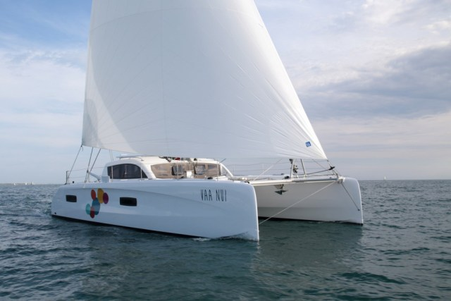VAA NUI is currently for sale after crossing from the Mediterranean to Australia