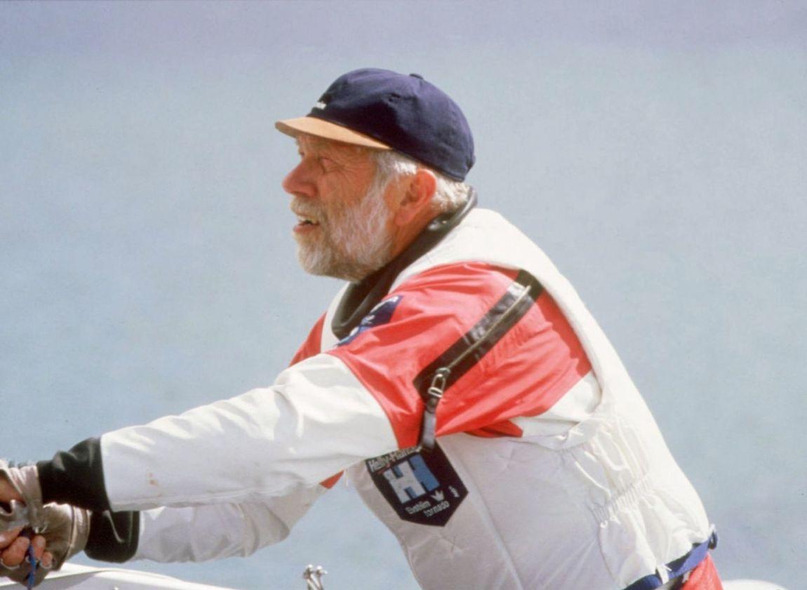--Sejler Paul Elvstrøm. NORDFOTO 1996