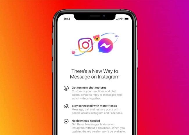 Instagram DM are on Facebook Messenger Now