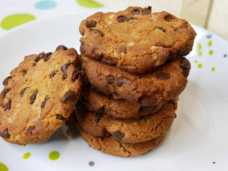 Cookies à la farine de pois chiches  - Cookies à la Farine de Pois-Chiches (Vegan, Sans Gluten)