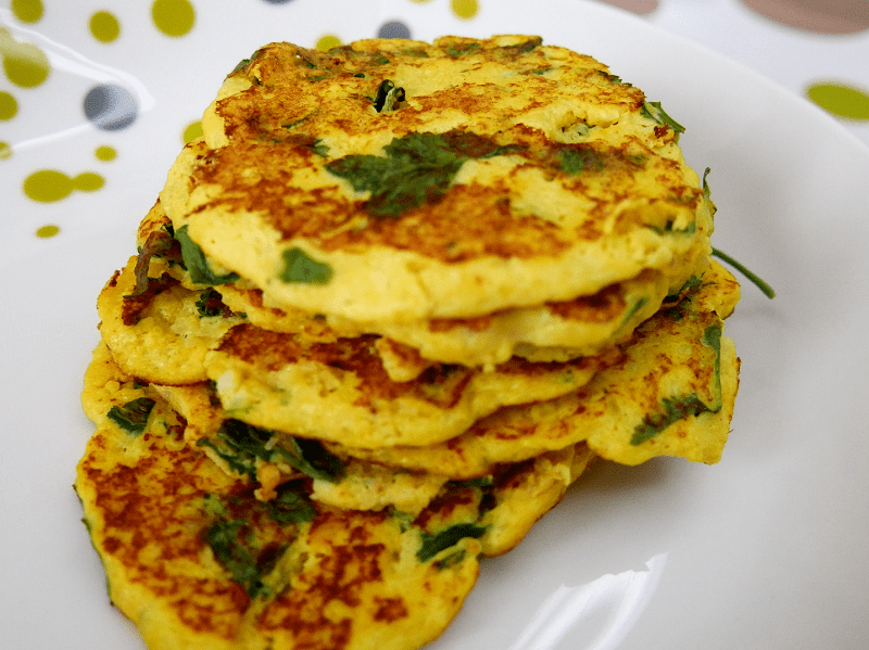 Tortillas de chou-fleur
