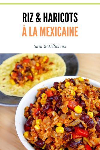 Riz et haricots rouges à la Mexicaine 3 - Haricots Rouges à la Mexicaine