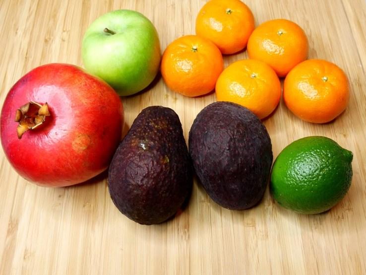 Salade clémentine et avocat - Les ingrédients