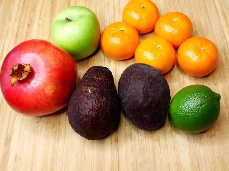 Salade clémentine et avocat Les ingrédients - Coup de cœur de Mars : Salade d'avocats, clémentines & pomme acidulée