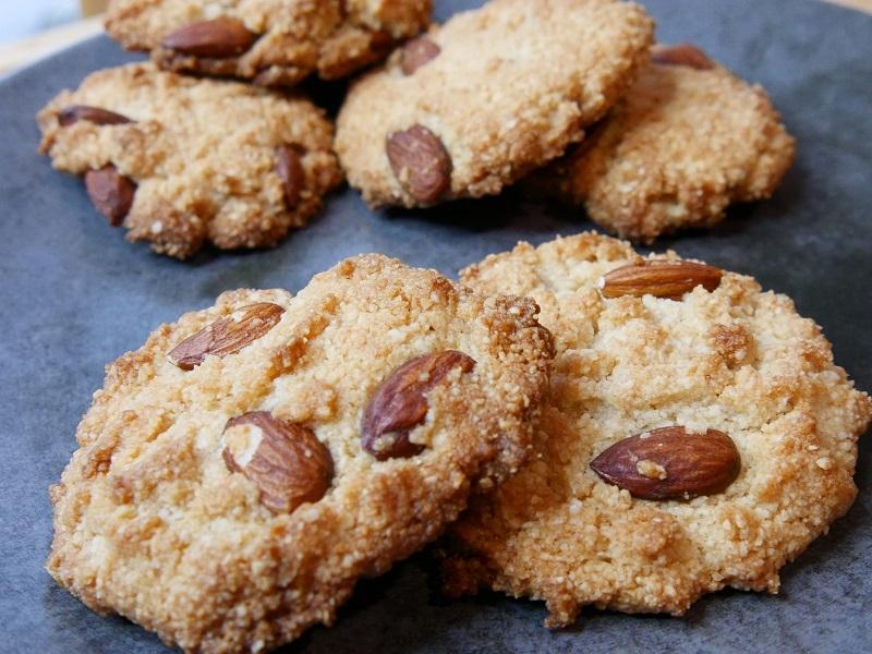 Cookies double amandes - Cookies double amandes