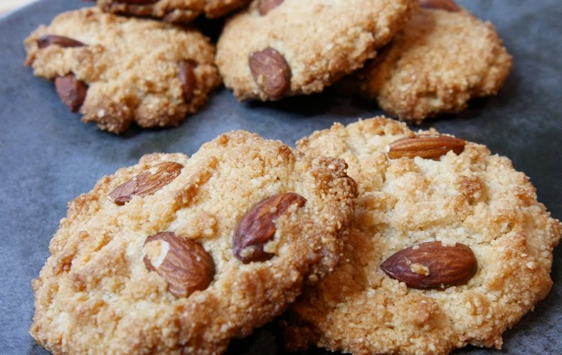 Cookies double amandes