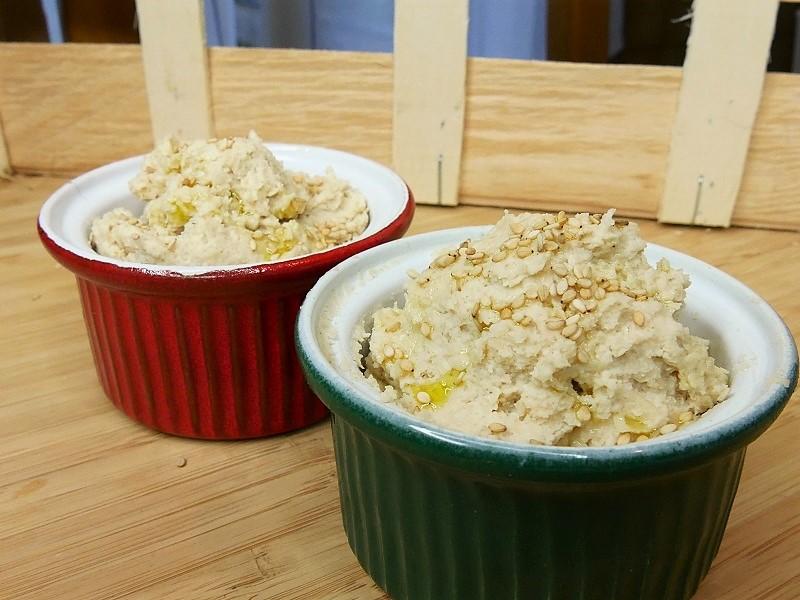 Houmous dharicots blancs  - Houmous d'haricots blancs