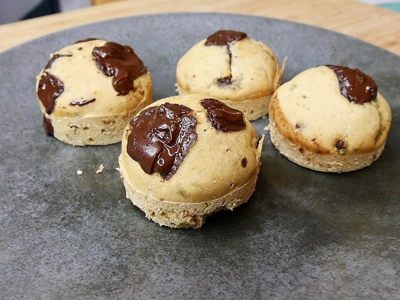 Muffins aux pépites de chocolat - Muffins healthy aux pépites de chocolat