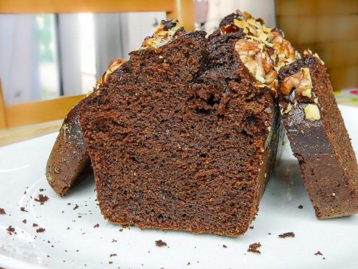 Cake au chocolat à la farine de pois chiche 1024x768 - 7(+3) Recettes Petits-Déjeuners Healthy (Faciles, Trop bons)