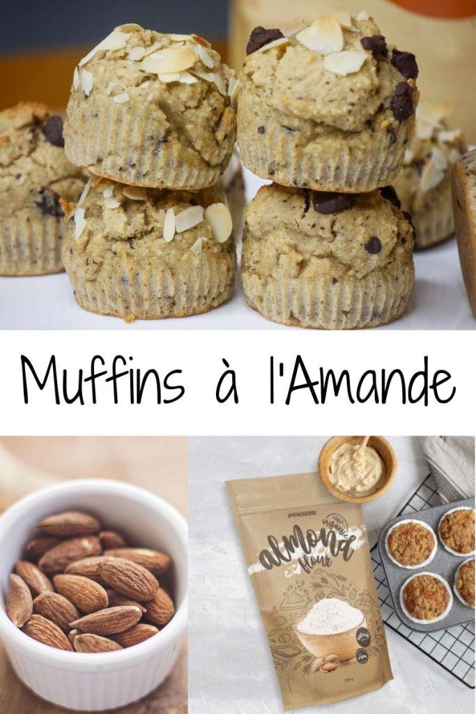 Muffins Healthy à lAmande - INSTA VLOG 03 : Muffins Amandes
