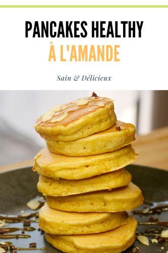 Pancakes Healthy à lAmande 3 - Pancakes à l'Amande (Sans Sucres Ajoutés)