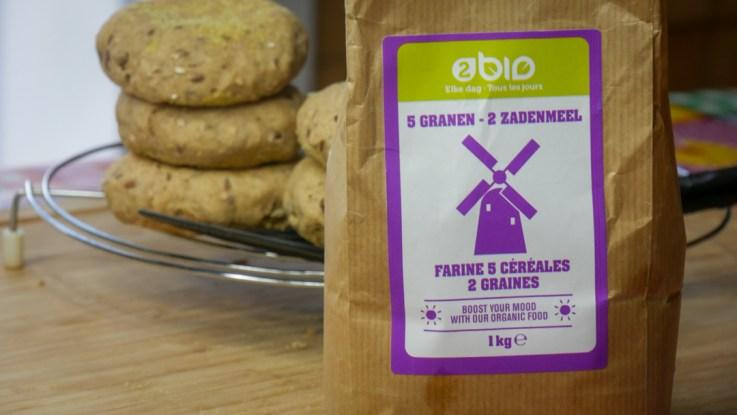 Farine Pour Muffins Complets Aux Graines 1 - Recette Muffins Anglais (Complet, Maison)