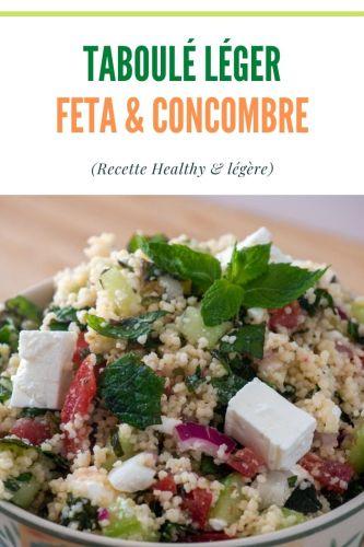 Taboule Feta Concombre Menthe 1 - Taboulé Feta, Concombre & Menthe