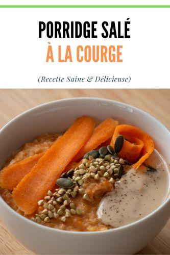 Porridge Sale a la Courge Petit Dejeuner Sales 2 - Porridge Salé à la Courge (Petit-Déjeuner Salé)