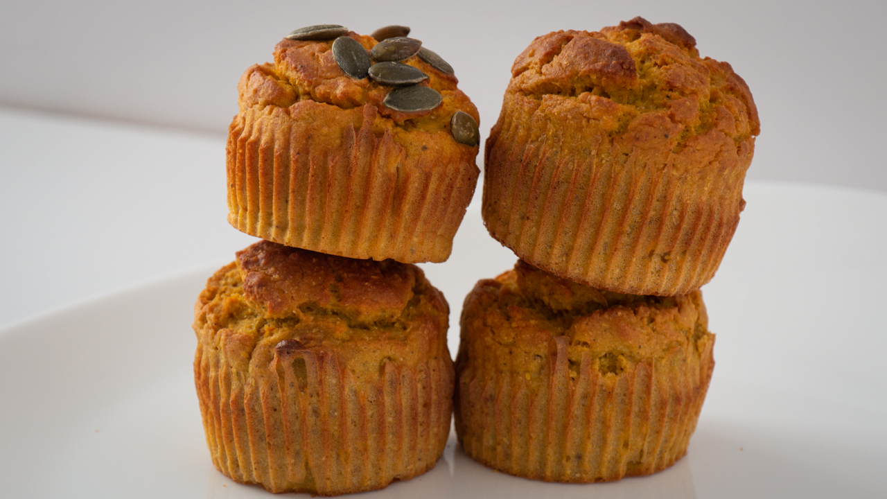 Recette Muffins a la Patate Douce Curry - Muffins Patate Douce & Curry (Muffins Salés)