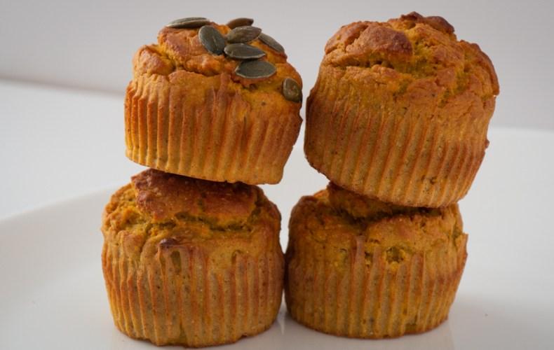 Recette Muffins à la Patate Douce & Curry