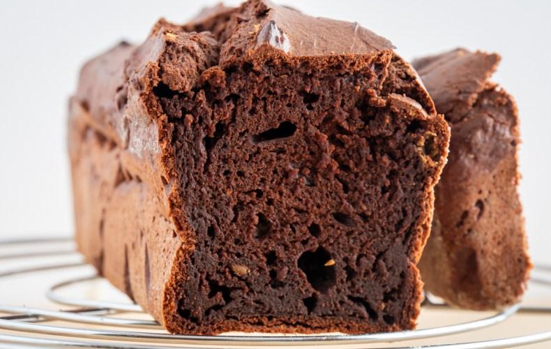 Cake Fondant Chocolat & Beurre de Cacahuètes (healthy)