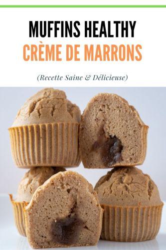 Muffins a la Creme de Marron healthy 2 - Muffins à la Crème de Marrons (healthy)