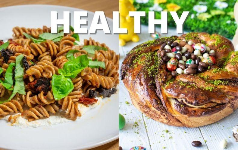 Recettes Healthy _ Pâques & Pâtes