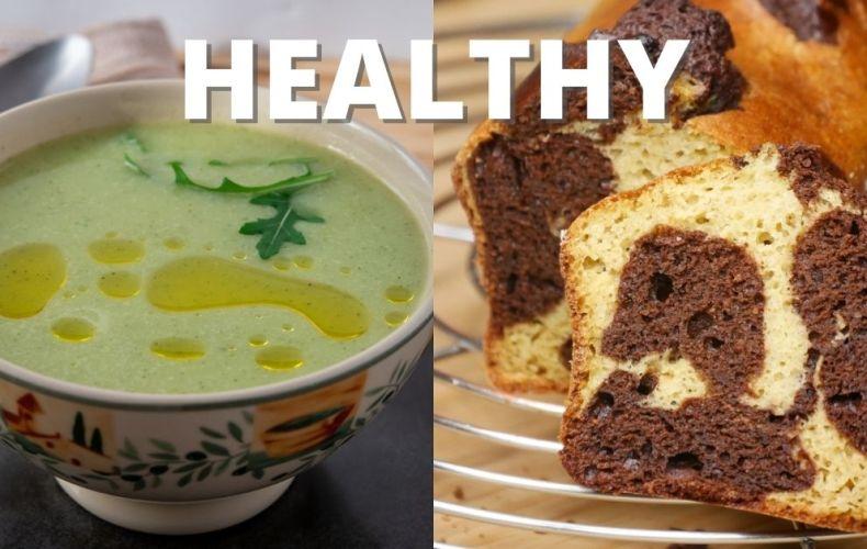 Velouté Courgette-Ricotta, Marbré HEALTHY et bien plus (recettes saines)