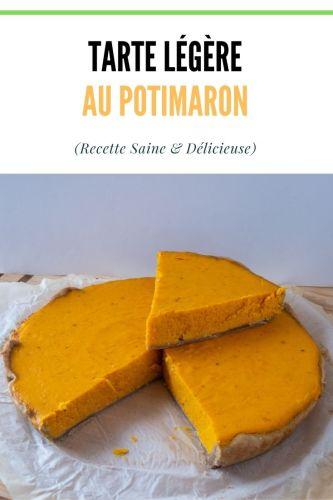 Tarte au Potimarron Legere recette salee 1 - Tarte au Potimarron Légère (recette salée)