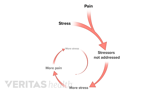 stress related back pain