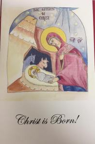 Christmas card by Katie Russell