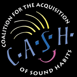 CASH logo white text En 250 x 250