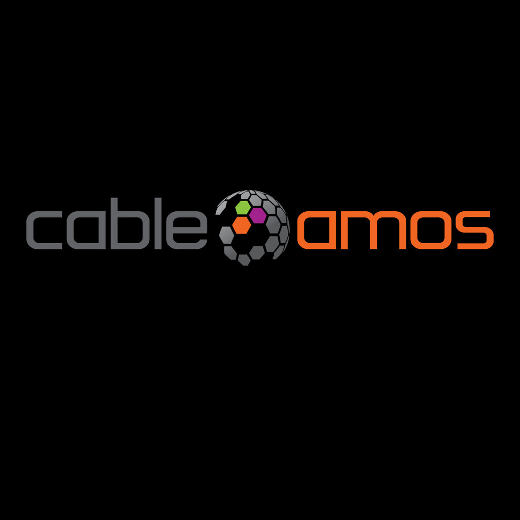 A Go Partner logos on black square.Cableamos